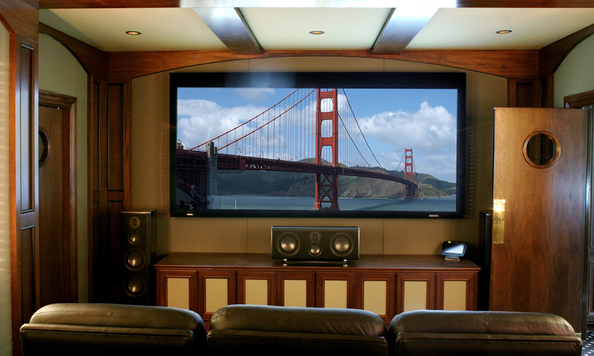 Sala de estar home theater